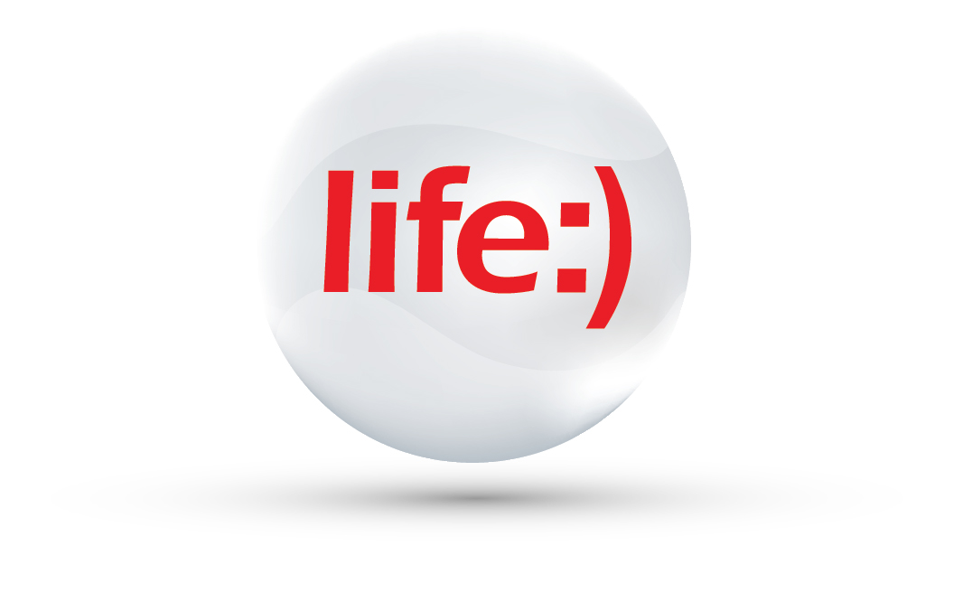 logo life sphere shadow